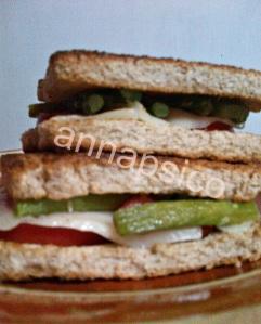sandwich espàrregs